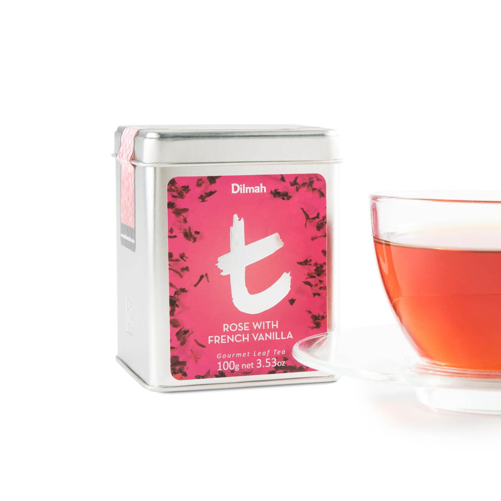 Dilmah rose and french vanilla loose leaf 100g dando dilmah rose and french vanilla loose leaf 100g izmirmasajfo
